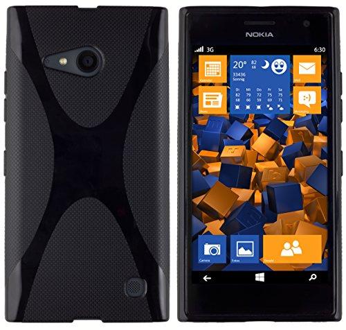 mumbi Schutzhülle für Nokia Lumia 730/735 Hülle