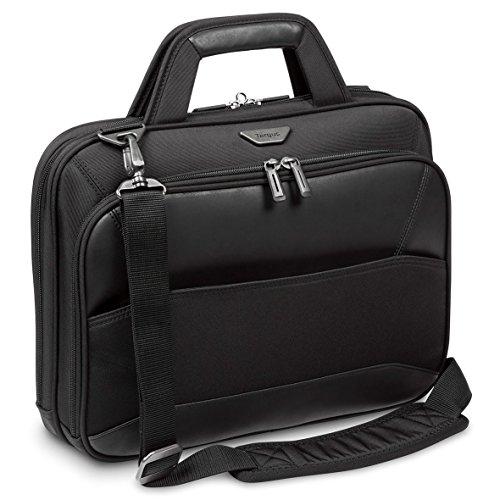 Targus Mobile VIP 12, 12.5, 13, 13.3, 14-Inch Topload Laptop Case, Black (TBT917EU)