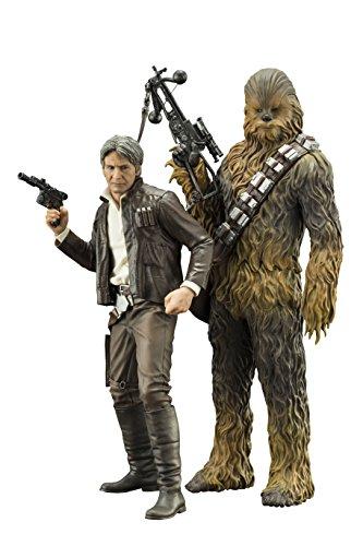 Star Wars SW120Episode 7HAN Solo und Chewbacca ARTFX + Statue