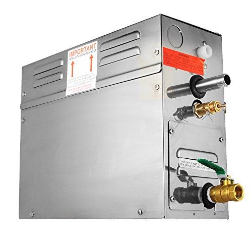 BuoQua 6KW Dampfgenerator Dusche Dampferzeuger Sauna Für Dampfbad Dampfdusche Und Dampfbäder Private Und Gewerbliche Dampfgerät - 5