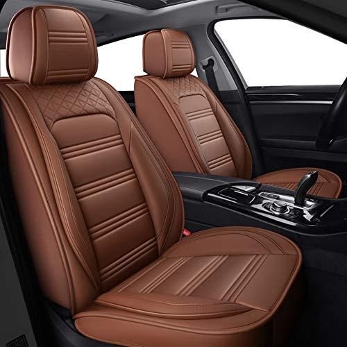 Cubiertas de asiento personalizadas Transpirable PU Asientos de Piel de coches fundas de asiento de auto Protectores del amortiguador del sistema completo (Air Bag Compatible) Universal Fit for Lexus