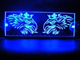 12V LED Cabina Interior placa GRIFFIN para SCANIA camiones iluminación mesa signo (azul)