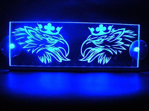 12 V LED Cabine intérieur Plaque Griffin pour Scania Truck Illuminateur Table Sign (Bleu)