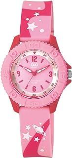 Q&Q Kids Waterproof Watch in Pink [VQ96J019Y]