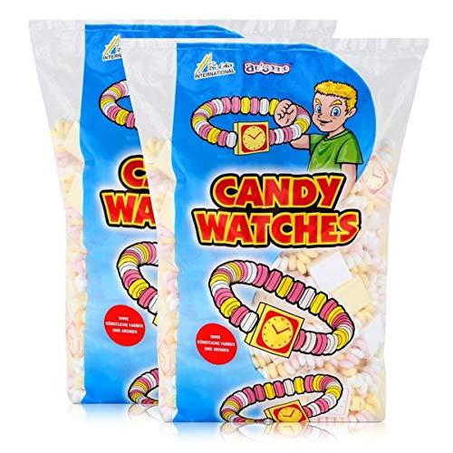 Sweet Stories Traubenzuckeruhren 1,45 kg - Candy Watches (2er Pack)