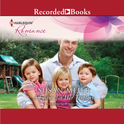A Father for Her Triplets audiobook cover art