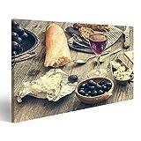islandburner Bild Bilder auf Leinwand Französische Küche.