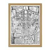 Doppelganger33 LTD Map Antique Palace Plan De Fer