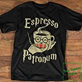 Espresso Patronum T-Shirt, Long Sleeve Tee, Sweater, Hoodie for Harry Potter and Coffee Lovers, Funny Wizard Tee Shirt Gift
