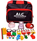 Electrical Lockout Tagout Panel Kit with Black Bag ALC-KT4