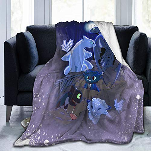 Pop Game Hiccup How to Speak Dragonese l-e-go Anime movie 12 Tra-in Your Drag-on Sherpa Manta súper suave Shagge día de las madres presente sofá silla cubierta mantel 203 x 152 cm
