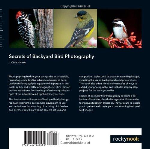 Secrets of Backyard Bird Photography
