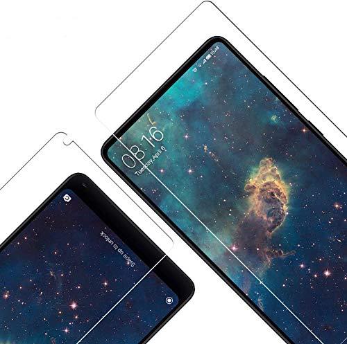 Vkaiy Panzerglas Schutzfolie für Xiaomi Mi Mix 2, [3 Stück] 9H Festigkeit, Anti-Kratzen, Anti-Öl, Anti-Bläschen Bildschirmschutzfolie für Xiaomi Mi Mix 2
