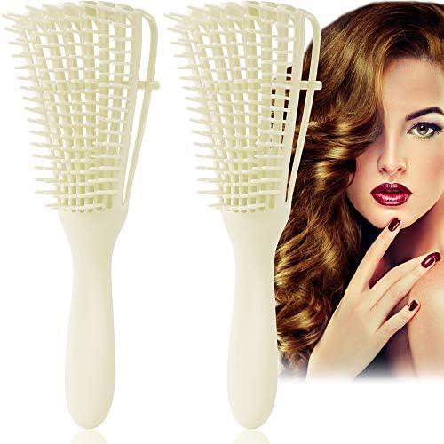 Detangling Brush Ez Hair Detangler Brush for Curly Hair Detangling Comb for Afro american African product image