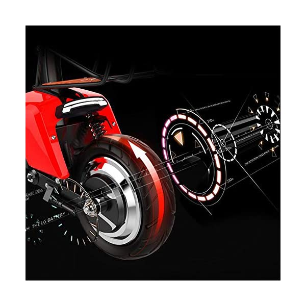 51z5kixMAHL. SS600  - E-Bike City Klapprad 37km/h - E-Faltrad Nabenmotor 580W, 48V 20AH, Elektro Faltrad für Damen und Herren, Reichweite: 100 km, Tragfähigkeit 140Kg