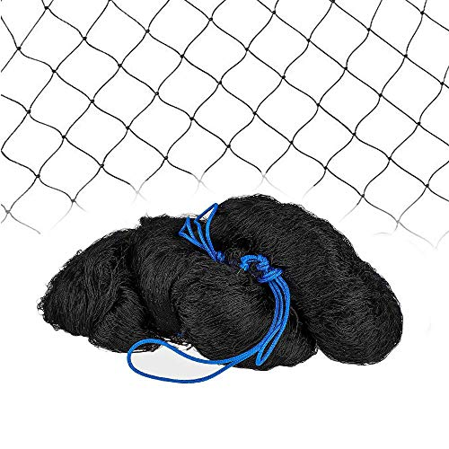 Meichang Scarlett Net Netting for Bird Poultry Aviary Game Pens (25' x 50'-2'')