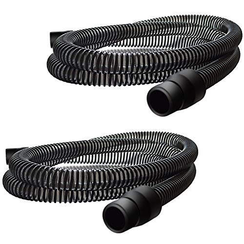 2 Packs-Universal CPAP Tubing(CPAP Hose)-6 Feet Long, Compatible with Dreamstation and ResMed Machine,CPAP Supplies Replacement Parts