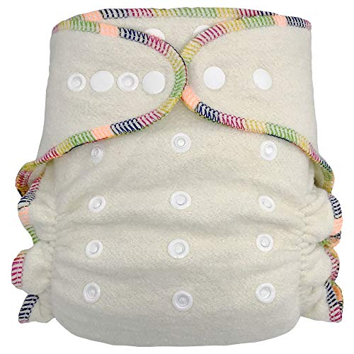 Ecoable Hemp Fitted Cloth Diaper