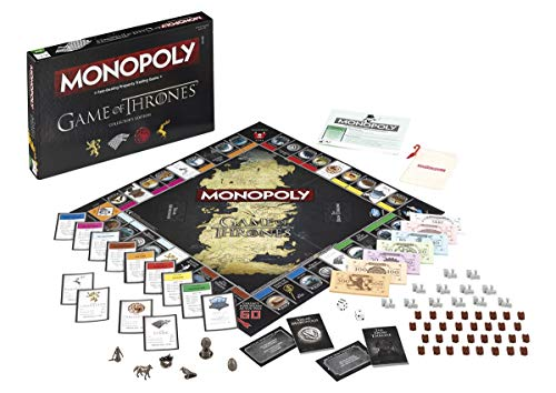 Game of Thrones Winning Moves Monopoly-Brettspiele, Special Edition TV & Film (evtl. Nicht in Deutscher Sprache)