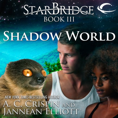 Shadow World audiobook cover art