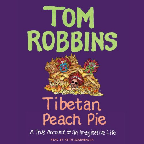 Tibetan Peach Pie audiobook cover art