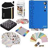 Polaroid Mint Instant Digital Camera (Blue) Gift Bundle + Paper (20 Sheets) +