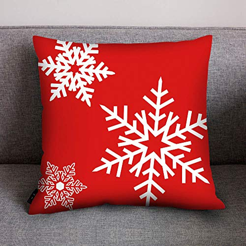 AMhomely Christmas Decorations Sale,Merry Christmas Print Pillow Case Polyester Sofa Car Cushion Cover Home Decor Merry Christmas Decorative Xmas Decor Ornaments Party Decor Gifts