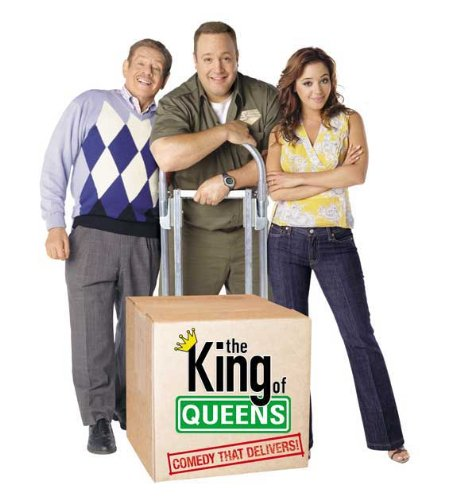 The King of Queens Movie Poster (11 x 17 Inches - 28cm x 44cm) (1998) Style D -(Kevin James)(Leah Remini)(Jerry Stiller)(Victor Williams)(Patton Oswalt)(Larry Romano)