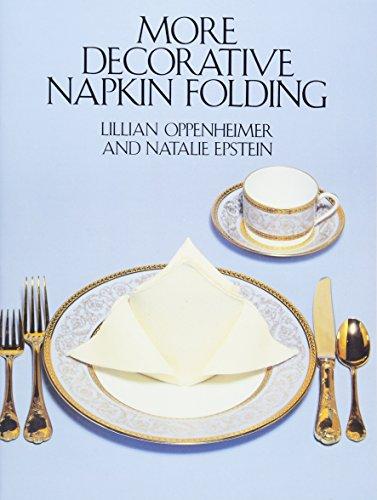 More Decorative Napkin Folding (Dover Craft Books)