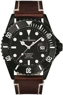 Revue Thommen - Reloj de buceo automático XL Diver para hombre, analógico, automático, acero inoxidable, 17571.2577