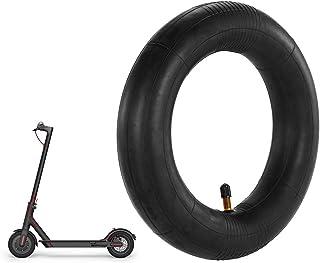 Andoer Tubo interno 8 1/2 × 2 com substituição de haste de válvula reta para patinete elétrico inteligente Mijia M365