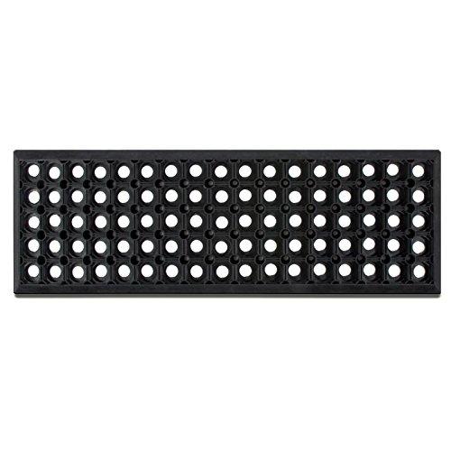Gummi Stufenmatten Octo Step | rechteckig | rutschhemmend | für Treppen im Außenbereich | einzeln oder im 5er Set (5 Stück)