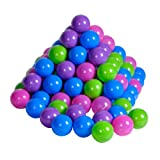 Knorrtoys knoortoys_56777 Bale Set 6 Cm-100 Balls Softcolor, Soft Color