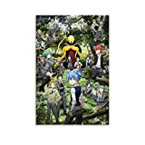 FUUU Anime Assassination Classroom 4 Poster, dekoratives