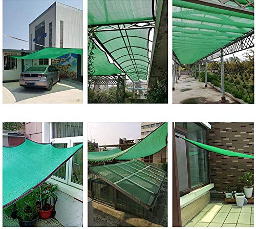 MZYKA UV Sunblock Shade Cloth, for Patio Canopy,Pergola Shade Cover Resistant Sunblock Shade Mesh Net Fabric,with Grommets HDPE with Ropes,Rectangle,10m X 12m / 32ft X 39ft
