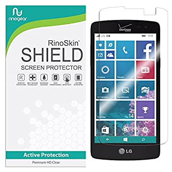 RinoGear Screen Protector for LG Lancet Case Friendly LG Lancet Screen Protector Accessory Full Coverage Clear Film