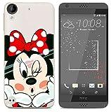 PREVOA Funda para HTC Desire 650 - Colorful Silicona TPU Funda Case para HTC Desire 650 Smartphone - 6