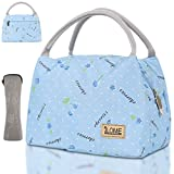 ILOME Insulated Lunch Bag for Women and Men Large Tote Insulated Lunch Bag with Pockets, Perfect...