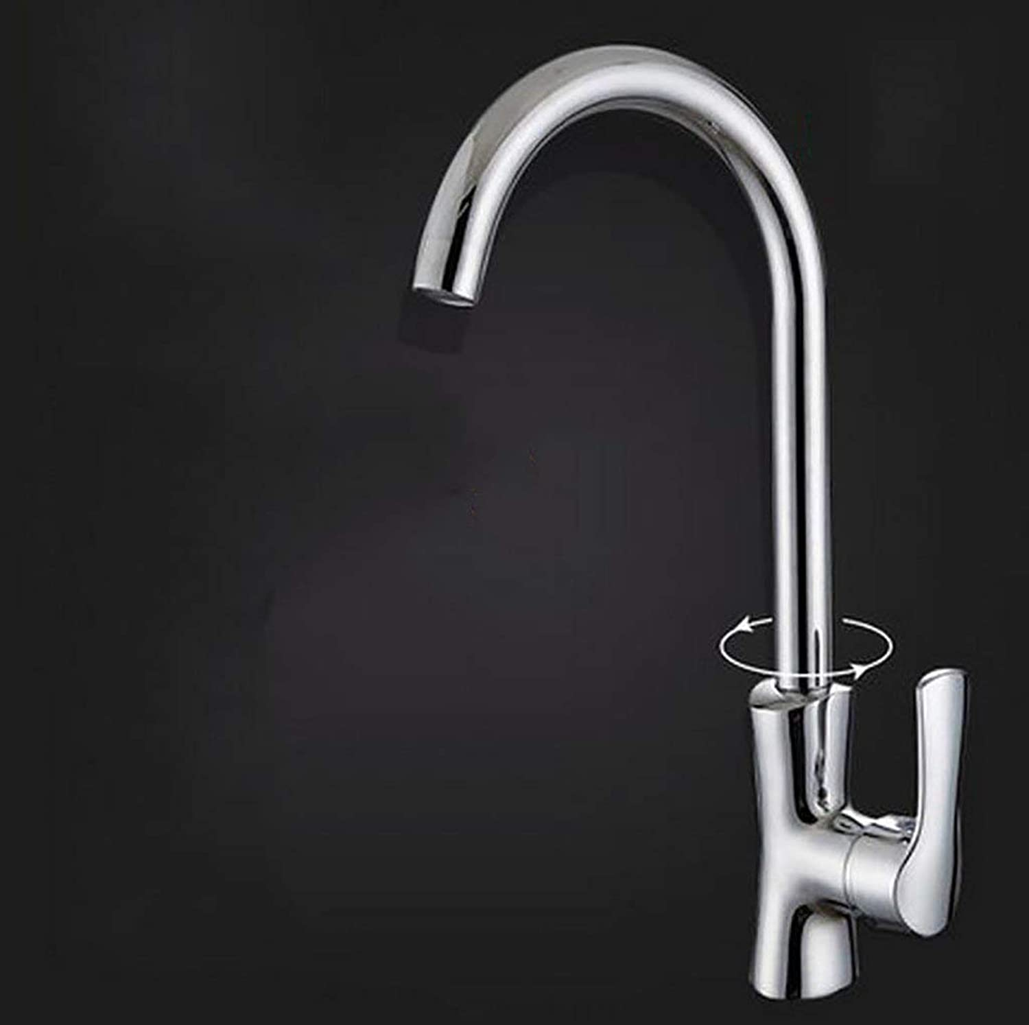 DYR Faucet Kitchen Faucets, Can Turn the Faucet, Spleen Faucet (color  5 )