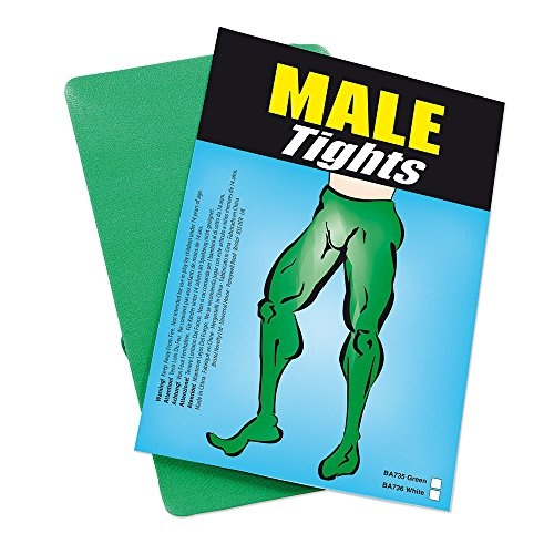 Bristol Novelty BA735 Male Tights Green, Mens, One Size