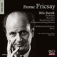 フリッチャイ 1952年5月25日 シャンゼリゼ劇場に於けるフランス・デビュー・コンサートの疑似再現 (Bela Bartok : Two Portraits , etc. / Ferenc Fricsay , RIAS Sinfonie-Orchester Berlin) [SACD Hybrid] [輸入盤]