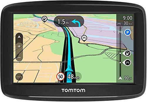 TomTom Navigationsgerät Start 52 Lite (5 Zoll, Karten Europa, Amazon Exklusiv, Fahrspurassistent, umkehrbare Halterung)