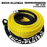 AlltoAuto AtA Enco-Plateau Synthetic Winch Rope, 3/8