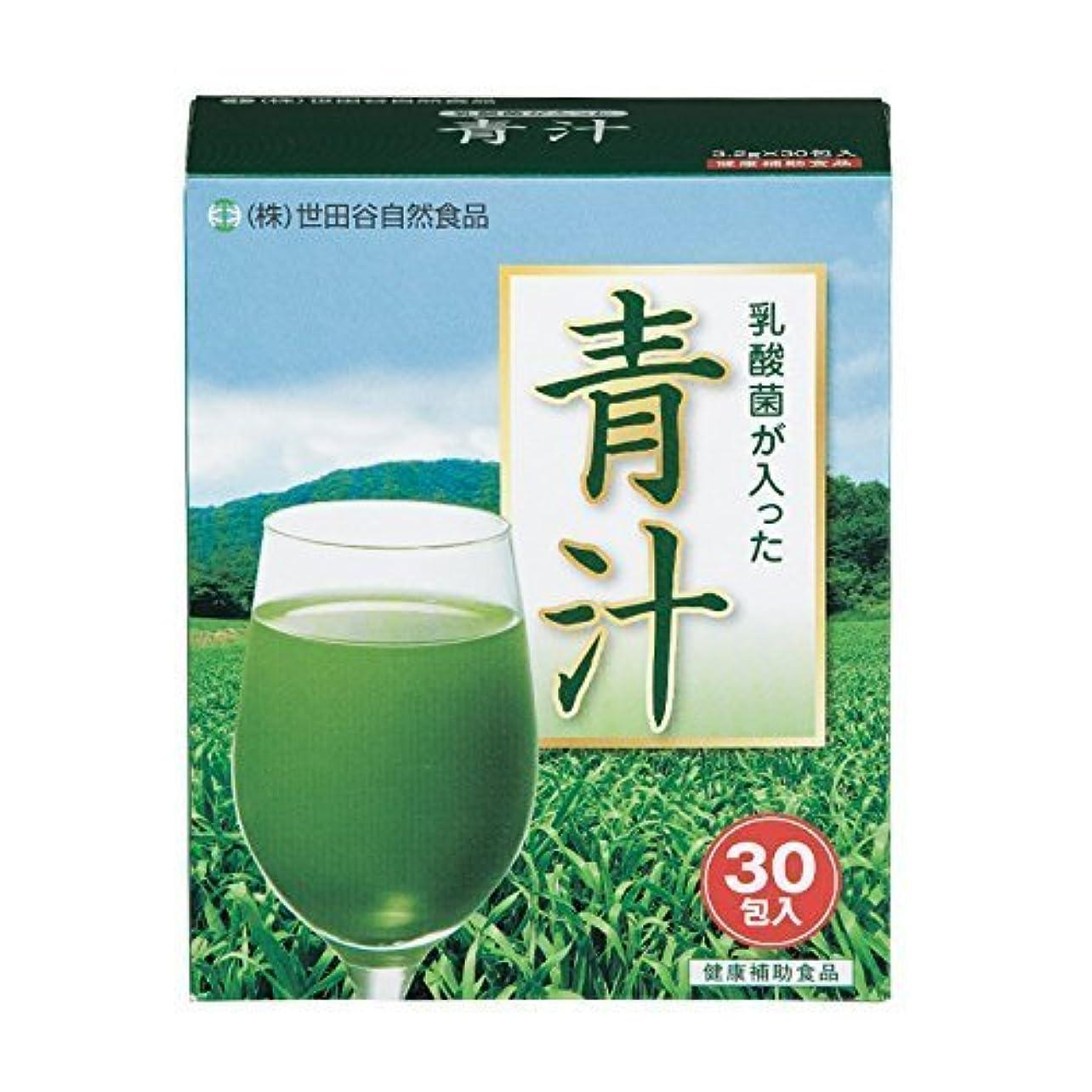 ヘルパー警告するどこ世田谷自然食品 乳酸菌が入った青汁(30包入) 1個