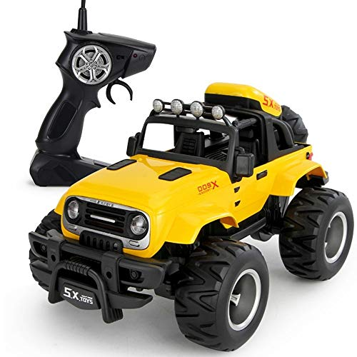 PETRLOY Amarillo All Terrain Off Road Cars Vehículo Sand Race Car Crawlers...