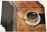 Cafe Latte Placemats Set of 4