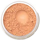 Bella Terra Mineral Powder Foundation | Long-Lasting All-Day Wear | Buildable Sheer to Full Coverage – Matte | Sensitive Skin Approved | Natural SPF 15 (Latte) 9 grams