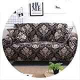 Slipcovers Sofa Cover All Inclusive Slip Resistant sectional Elastic Full Couch Cover Sofa Towel Single/Two/Three/Four Seater,5,Single seat Sofa