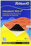 Pelikan Kohlepapier Interplastic 1022G, DIN A4, 10 Blatt, 1 Set