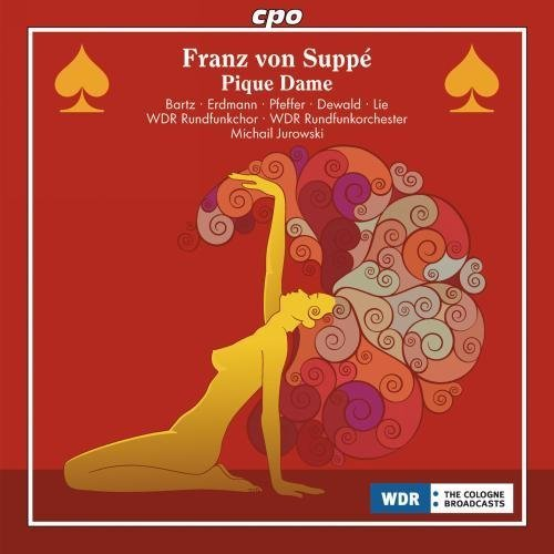 Suppe: Pique Dame by Anjara I. Bartz, Mojca Erdmann, Anneli Pfeffer, Thomas Dewald, Tom Erik Lie (2010) Audio CD